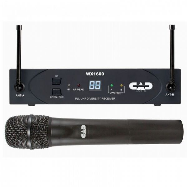 CAD Audio - CAD STAGESELECT 1600 SERIES UHF WIRELESS MICROPHONE SYSTEM - WX1600G